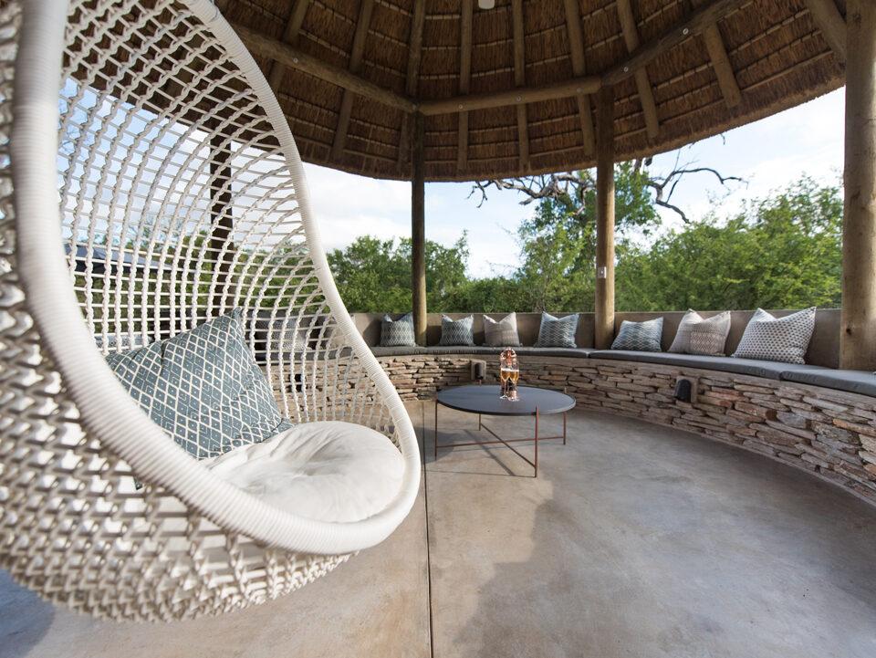 Villa Kudu covered patio
