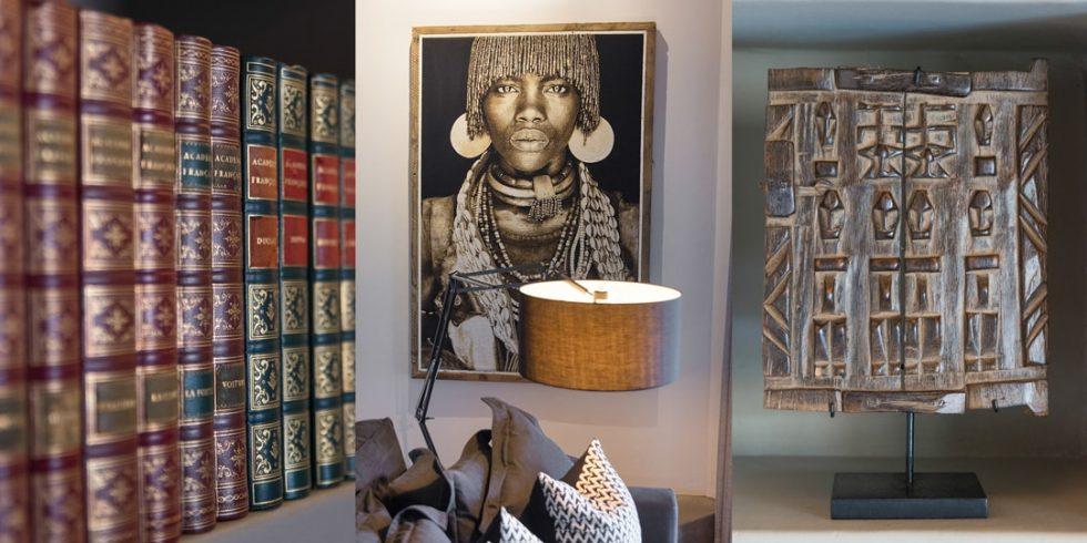 Villa Kudu Library & TV Room