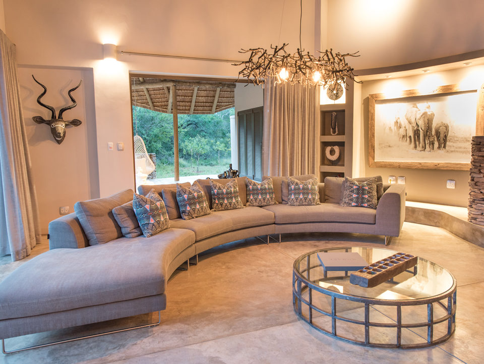 Villa Kudu Living Room