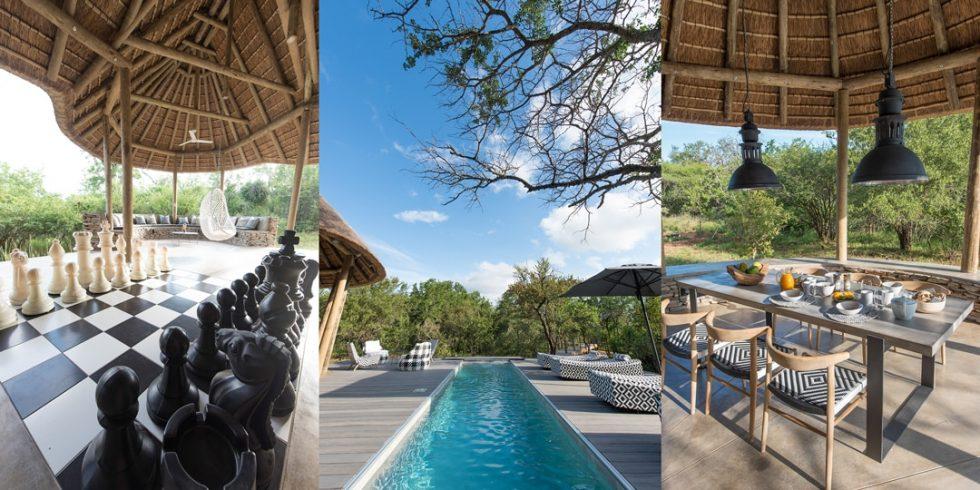 Villa Kudu outdoor areas