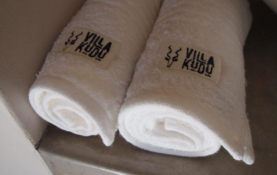 Villa Kudu towels