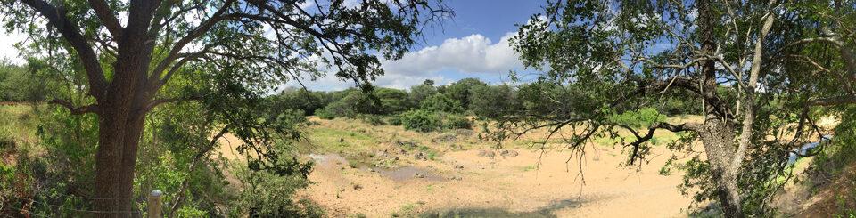 Villa Kudu observation deck view