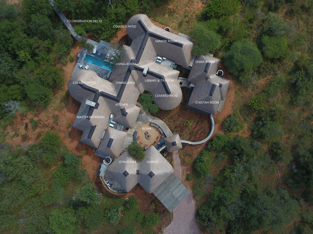 Discover Villa Kudu : Floor Plan