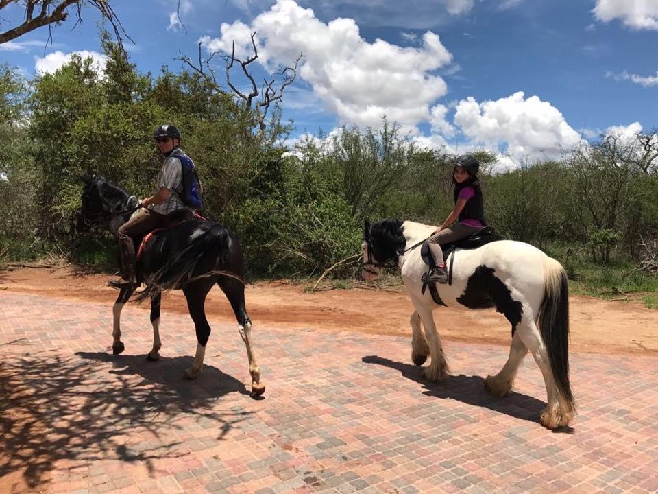 Silky and Zahirah, Villa Kudu's horses