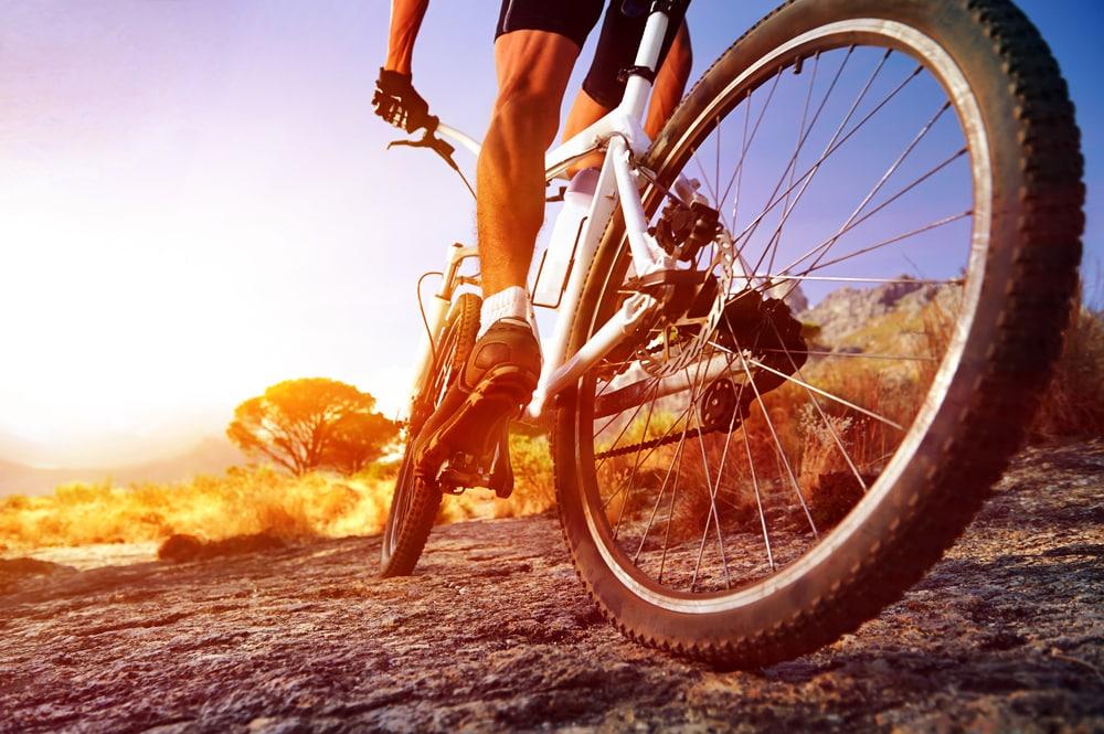 Mountain biking at Villa Kudu