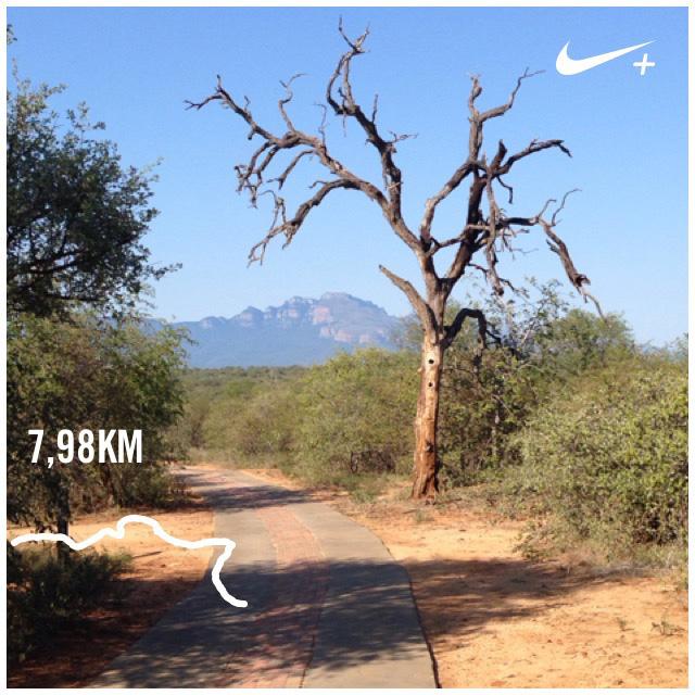 Running at Villa Kudu