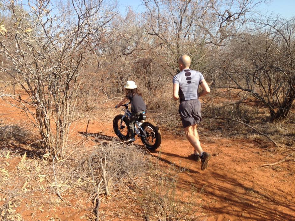 Training and relaxing at Villa Kudu